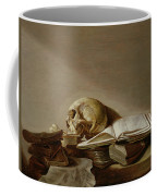 Vanitas Coffee Mug by Jan Davidsz de Heem