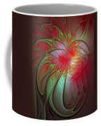 Vase Of Flowers Coffee Mug by Amanda Moore