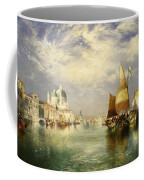 Venetian Grand Canal Coffee Mug by Thomas Moran