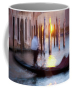 Venice Blue Hour 1 Coffee Mug by Heiko Koehrer-Wagner