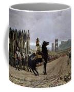 Vercingetorix Before Caesar Coffee Mug by Henri Paul Motte