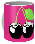 Very Cherry Coffee Mug by Oliver Johnston