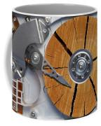Very Old Hard Disc Coffee Mug by Michal Boubin