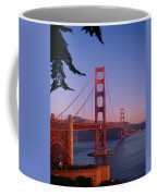 View Of The Golden Gate Bridge Coffee Mug by American School