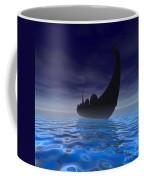 Viking Ship Coffee Mug by Corey Ford