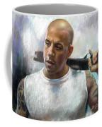 Vin Diesel Coffee Mug by Ylli Haruni