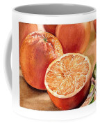 Vitamin C Coffee Mug by Irina Sztukowski