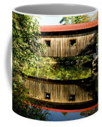 Warner Covered Bridge Coffee Mug by Greg Fortier