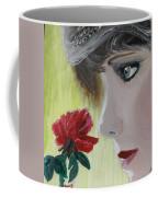 Wedding Rose Coffee Mug by J Bauer