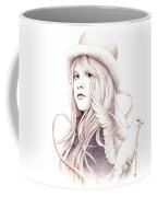 White Winged Dove Coffee Mug by Johanna Pieterman