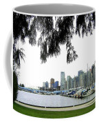 Window To The Harbor Coffee Mug by Will Borden