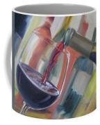 Wine Pour Coffee Mug by Donna Tuten
