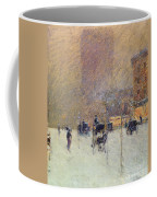 Winter Afternoon In New York Coffee Mug by Childe Hassam
