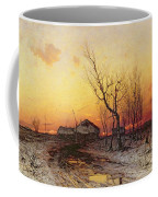 Winter Landscape Coffee Mug by Julius Sergius Klever