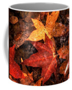 With Love - Autumn Pond Coffee Mug by Theresa  Asher