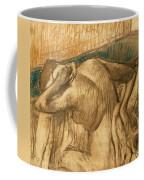 Woman At Her Toilet Coffee Mug by Edgar Degas