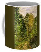 Wooded Path Coffee Mug by Claude Monet