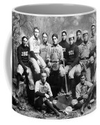 Yale Baseball Team, 1901 Coffee Mug by Granger