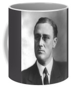 Young Franklin Delano Roosevelt Coffee Mug by War Is Hell Store