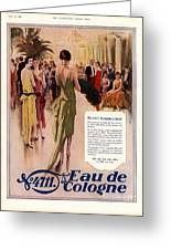 1928 1920s Uk 4711 Eau De Cologne Greeting Card by The Advertising Archives