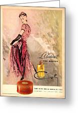 1940s Usa Coty   Laimant Womens Greeting Card by The Advertising Archives