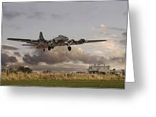 B17- 'airborne' Greeting Card by Pat Speirs