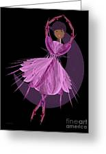 Dancing With The Moon B Greeting Card by Andee Design