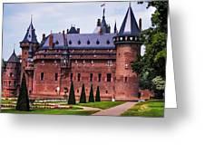 De Haar Castle 4. Utrecht. Netherlands Greeting Card by Jenny Rainbow