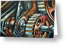 ' In Harmony ' Greeting Card by Michael Lang