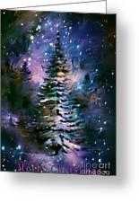 Merry Christmas Greeting Card by Andrzej Szczerski