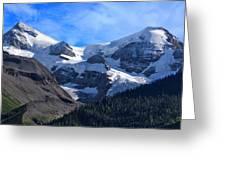 Mount Charlton  And Mount Unwin Greeting Card by Charles Kosina