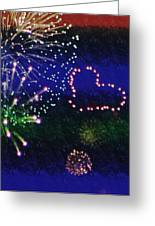 My 4th Of July Greeting Card by Janie Johnson