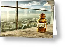 @ Sky Bar Sirocco Greeting Card by Suradej Chuephanich