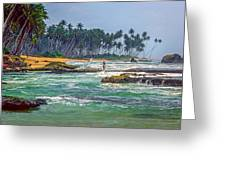 Sri Lanka Greeting Card by Steve Harrington