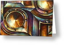 ' The Keep ' Greeting Card by Michael Lang