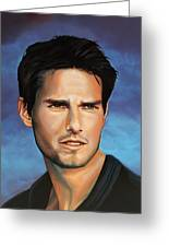 Tom Cruise Greeting Card by Paul Meijering