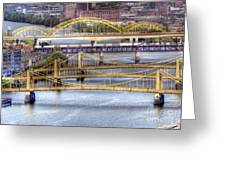 0307 Pittsburgh 8 Greeting Card by Steve Sturgill