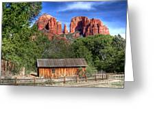 0682 Red Rock Crossing - Sedona Arizona Greeting Card by Steve Sturgill