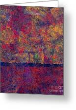 0799 Abstract Thought Greeting Card by Chowdary V Arikatla