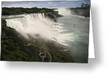 Niagara Falls Greeting Card by Jessica Cirz