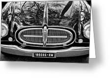 1952 Ferrari 212 Vignale Front End Greeting Card by Jill Reger
