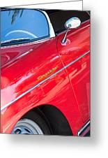 1955 Porsche 356 Speedster Greeting Card by Jill Reger