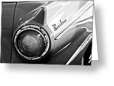 1957 Ford Ranchero Pickup Truck Taillight Greeting Card by Jill Reger