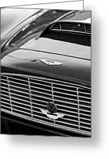 1960 Aston Martin Db4 Grille Emblem Greeting Card by Jill Reger