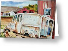 Forgotten Delivery  Greeting Card by Scott Nelson