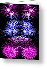 Abstract 135 Greeting Card by J D Owen