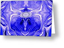 Abstract 139 Greeting Card by J D Owen