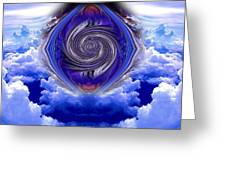 Abstract 143 Greeting Card by J D Owen