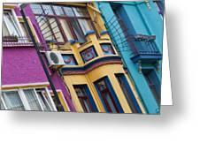 Abstract Istanbul 02 Greeting Card by Antony McAulay