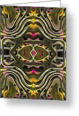 Abstract Rhythm - 28 Greeting Card by Hanza Turgul
